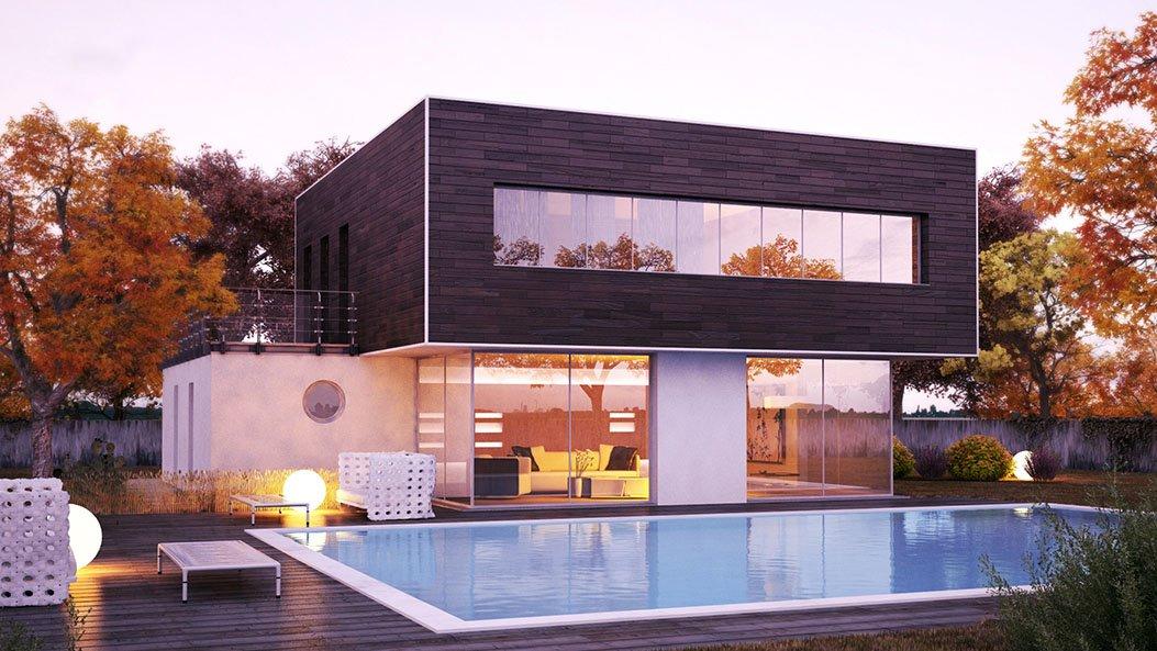 """Esterno - 3D 2.0 Architectural Visualization / Portfolio """"Esterno"""" - Render realizzato da Alberto Lamacchia"""